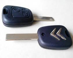 Citroen 3 Button Remote Key Casings