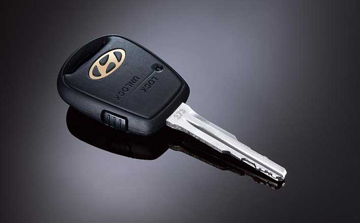 Hyundai Getz 1 Button Remote Key